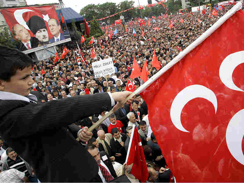 Anti-EU rally in Anakara, Turkey in 2005