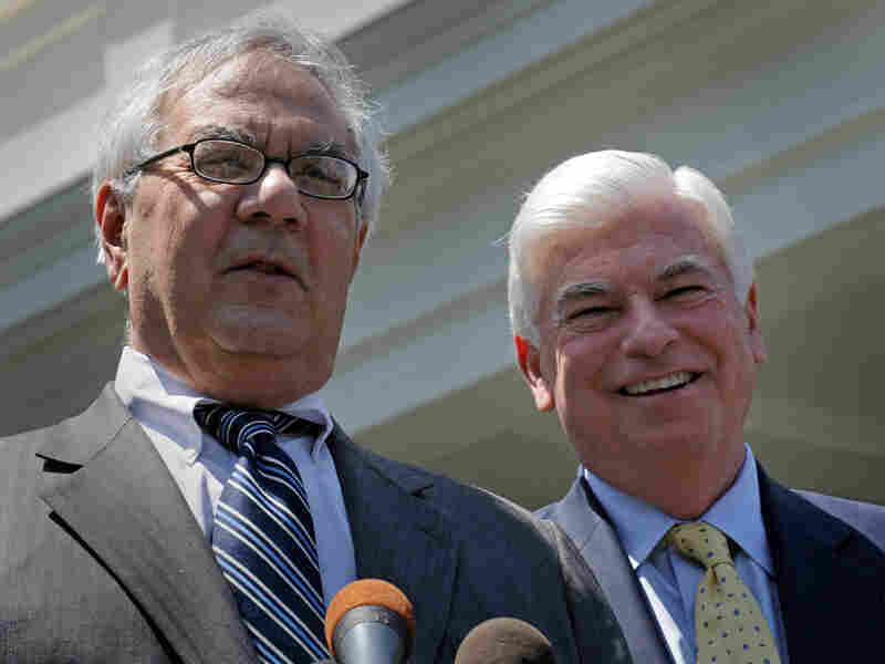 House Financial Services Chairman Barney Frank and Senate Banking Chairman Chris Dodd
