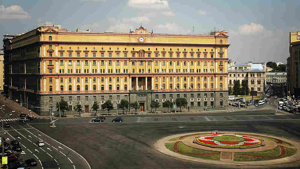 Headquarters of the Federal Security Service, the former KGB, in Moscow