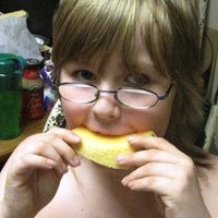 8-year-old Alex Williamson Eats