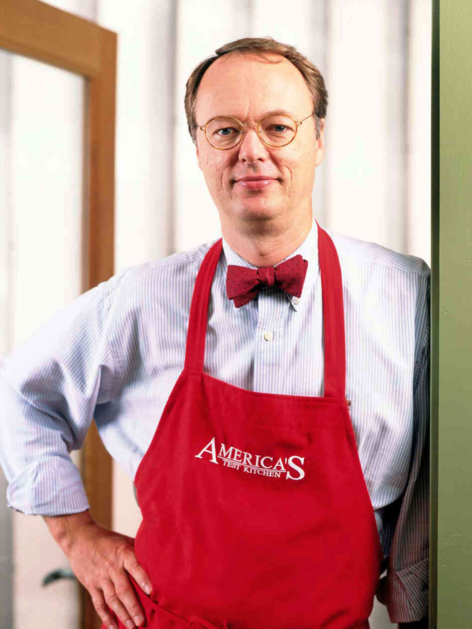 Chris Kimball of PBS' 'America's Test Kitchen' has a new book of classic potluck recipes.