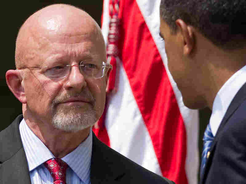 Retired Air Force Gen. James Clapper with President Obama.