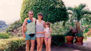 Pedro Moran-Palma and his wife, Hilda Chacon, in Costa Rica with Hilda's daughter, Nadia.
