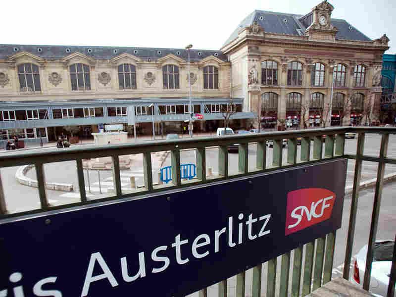 The Austerlitz train station in Paris