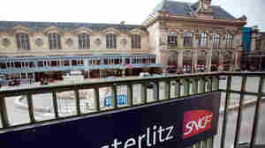 The Austerlitz train station in Paris