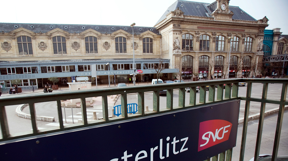 SNCF operates the Austerlitz train station in Paris, where thousands of Jews passed through on their way to internment and concentration camps during World War II.