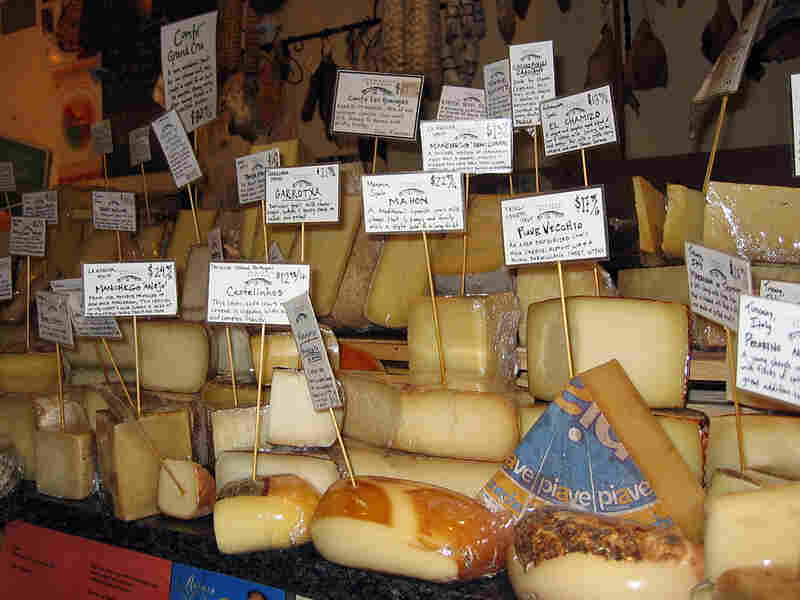 Global economic factors pushed up the prices of European cheeses.
