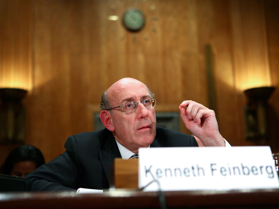 """U.S. pay czar Kenneth Feinberg says executive payouts were """"ill-advised,"""" but critics say he should have acted more forcefully. (Alex Wong/Getty Images)"""