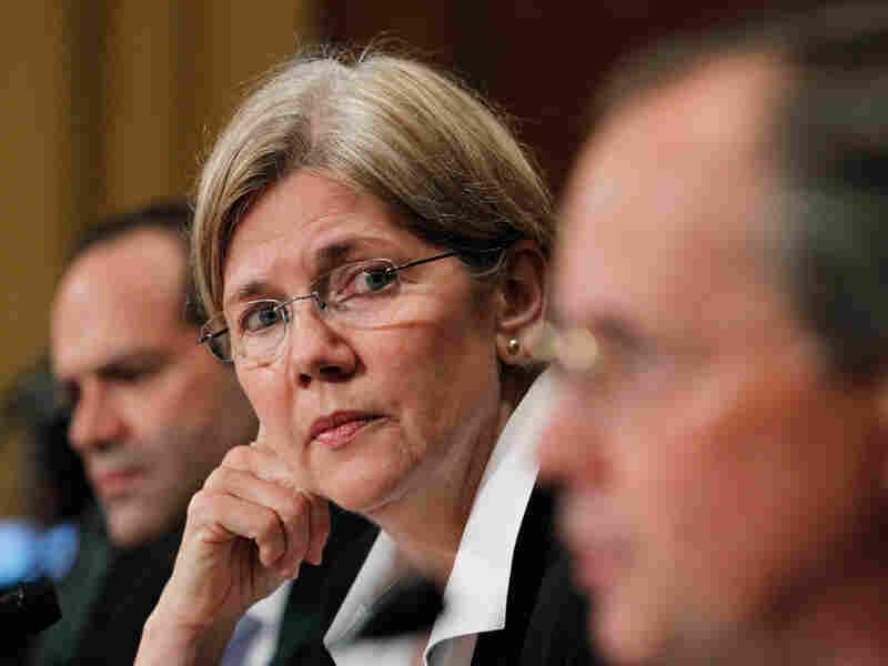 Elizabeth Warren on Capitol Hill in Washington on July 21.