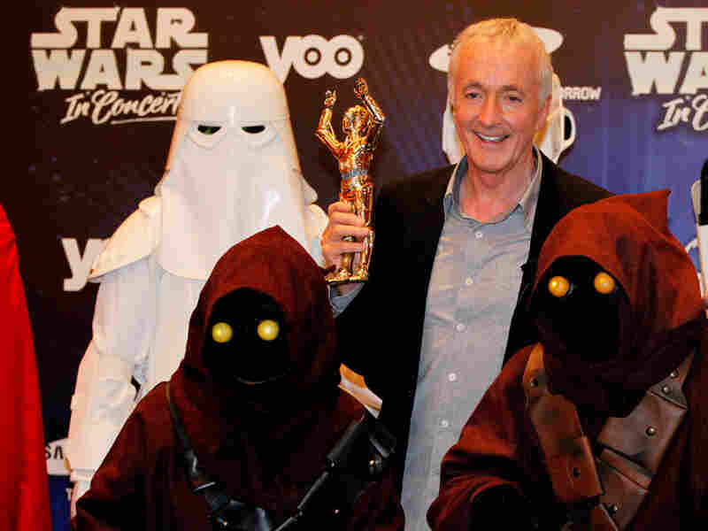 Anthony Daniels (C-3PO) promoting 'Star Wars in Concert'