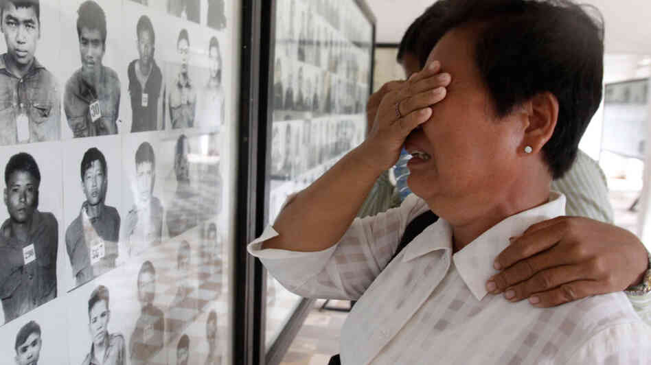 Portraits of Khmer Rouge victims