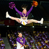 Baika Cheerleading Club Raiders perform during the Japan Cup Cheerleading Championship in Tokyo.