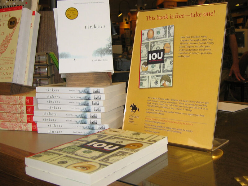 a novel approach free books for donations npr
