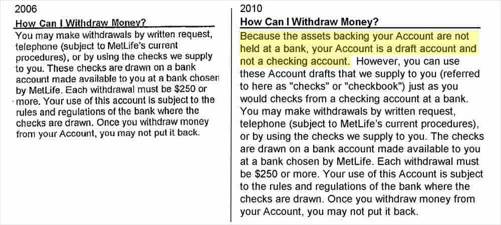 MetLife: How Can I Withdraw Money?