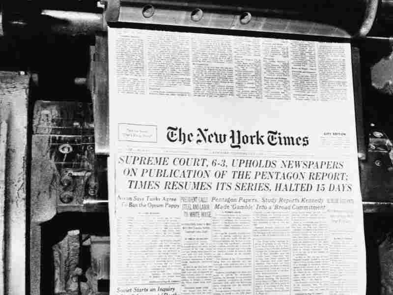 July 1, 1971: 'The New York Times' publishes the Pentagon Papers.