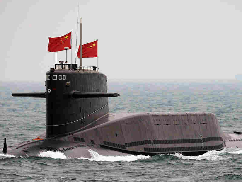 Chinese Navy nuclear-powered submarine