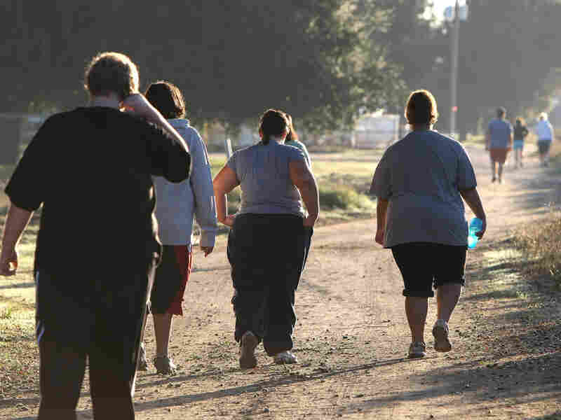 A group of teenagers take a morning jog at the Wellspring Academy in Reedley, California on October