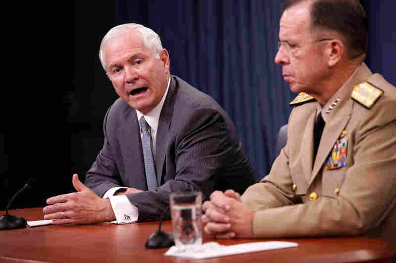 Defense Secretary Robert Gates (left) and Adm. Mike Mullen, chairman of the Joint Chiefs of Staff.