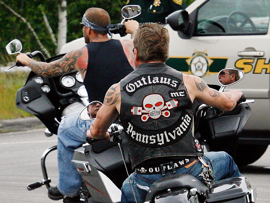 Feds Peel Back Chrome On Motorcycle Gangs Wbur Amp Npr