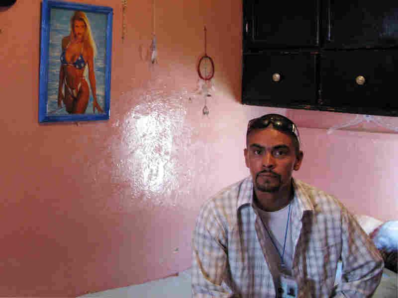 Manuel Garcia Cheparo, an Azteca serving time in Juarez municipal prison for murder