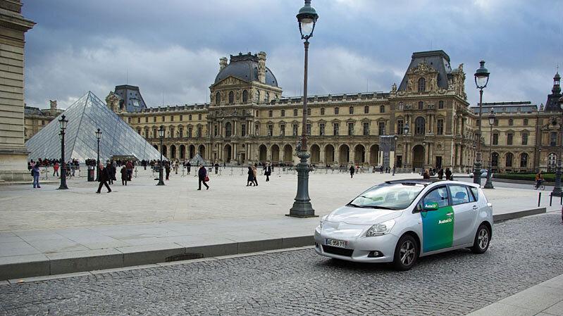 Paris Popular Bike Rentals Spark Electric Car Plans Npr