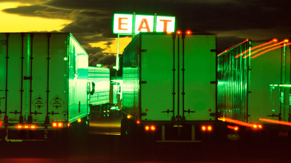 Truckers are more likely than average Americans to be overweight, which can lead to health problems including sleep apnea.