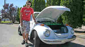 This IS His Grandfather's Bug, But Now It's Electric