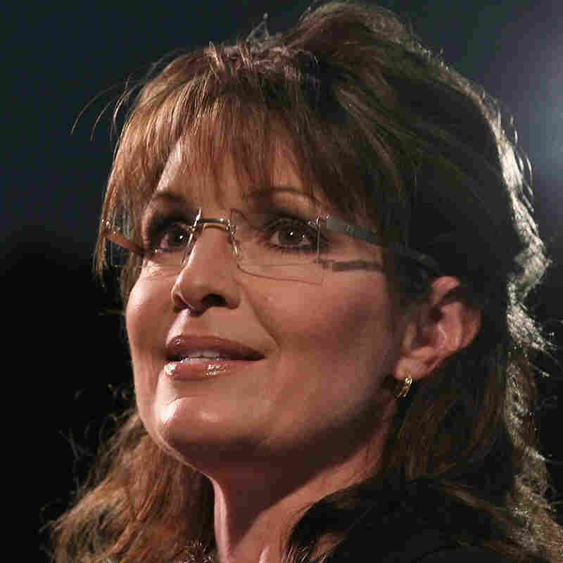 Former Alaska Gov. Sarah Palin, the 2008 GOP vice presidential nominee.