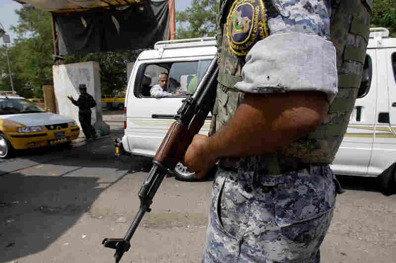 Iraqi police impose extra security measures after militants killed five police officers
