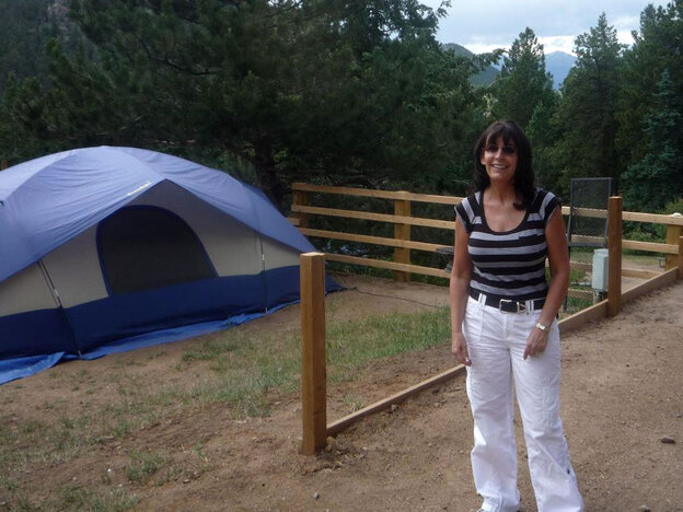 Kathy Palermi is the owner of the Jellystone Campground near Estes Park, Colorado. Palmeri says campgrounds adding wi-fi are responding to customer demand.
