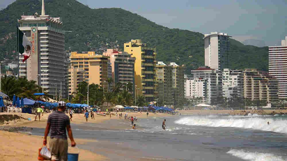 Acapulco, Mexico's celebrated coastal resort