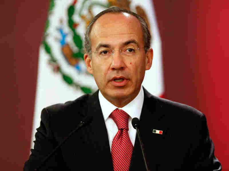 Mexico's President Felipe Calderon