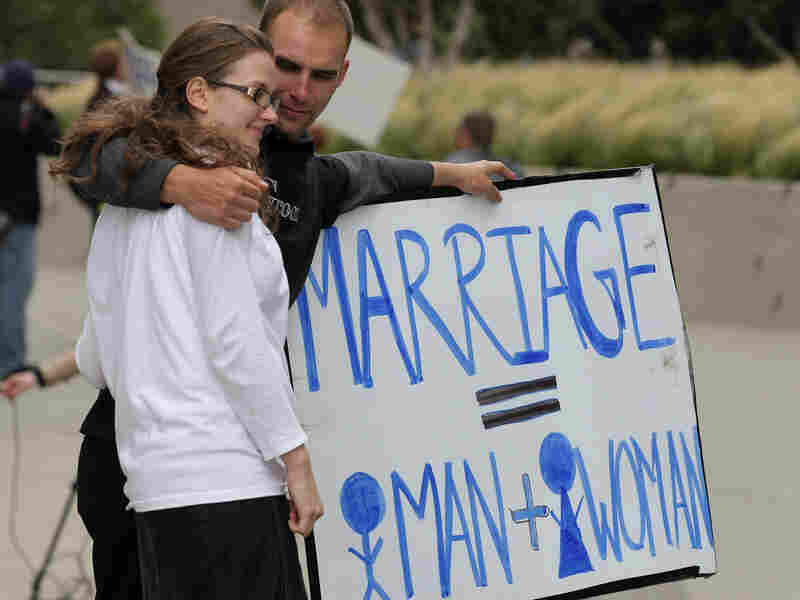 Proposition 8 supporters