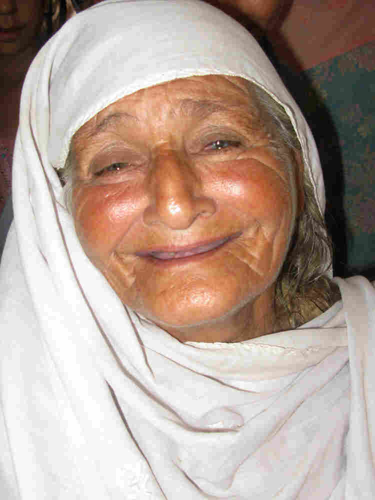 Siraj Begum found shelter in a school crammed with some 200 families.