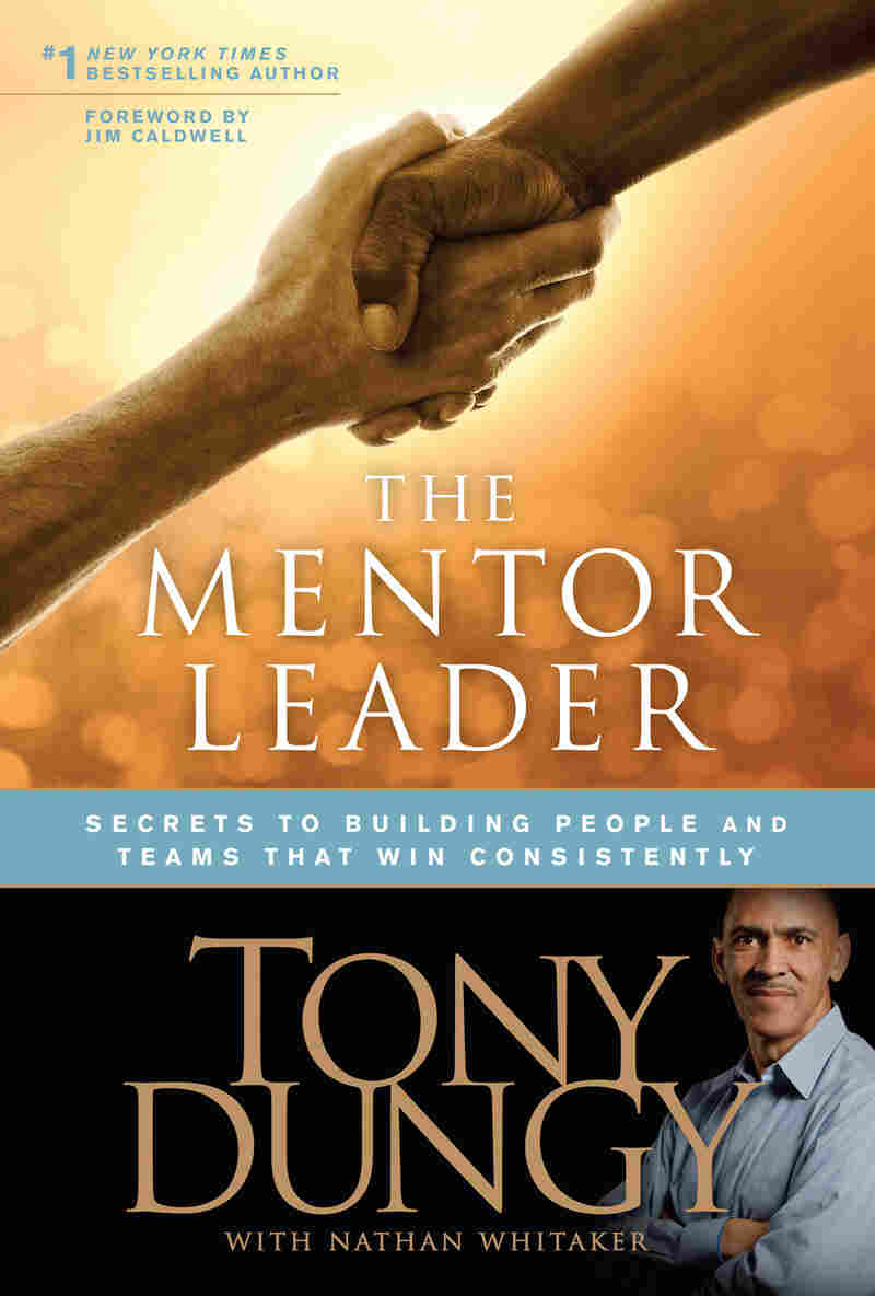 Cover of Tony Dungy's 'The Mentor Leader' book.