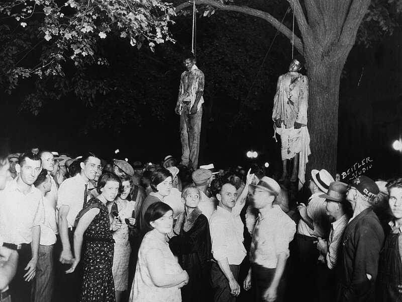 Strange Fruit Photo Lynching