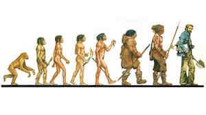 Ascent of Man Illustration
