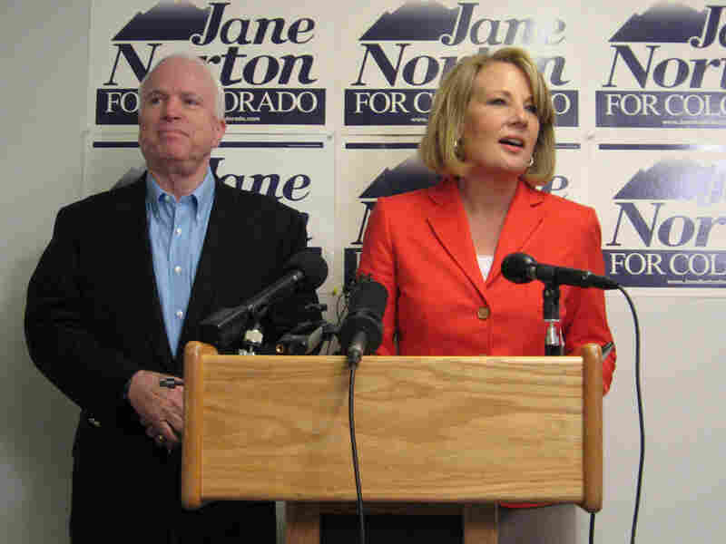 Former Lt. Gov. Jane Norton picked up the support of 2008 GOP presidential nominee John McCain.