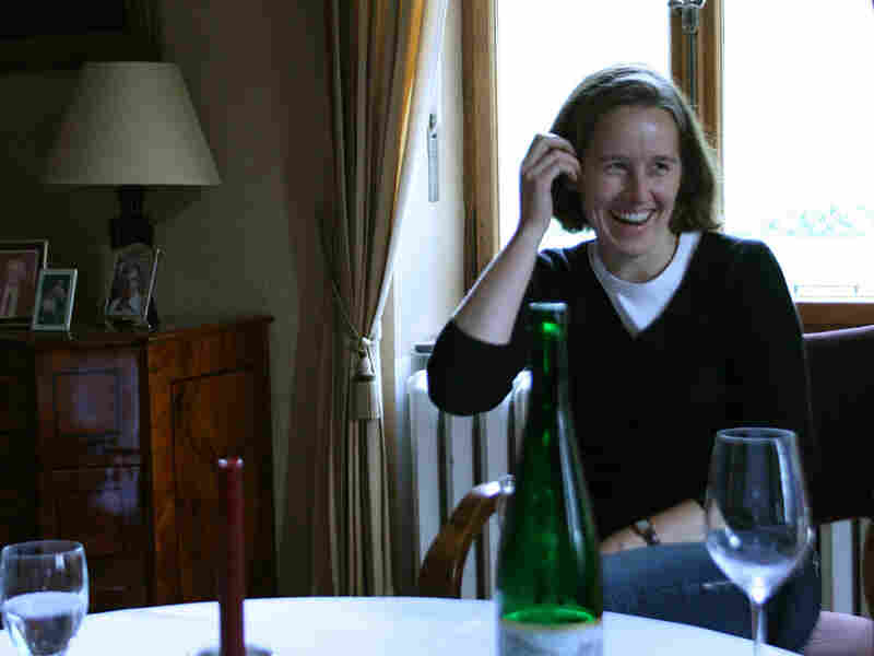 Katharina Prum at her family's estate and winery in the Mosel Valley
