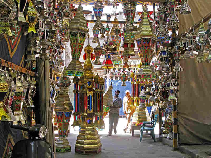 Unique Egyptian 'fanous' lanterns on sale in Cairo ahead of Ramadan