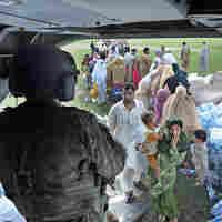 U.S. Expands Aid To Pakistan's Flood Victims