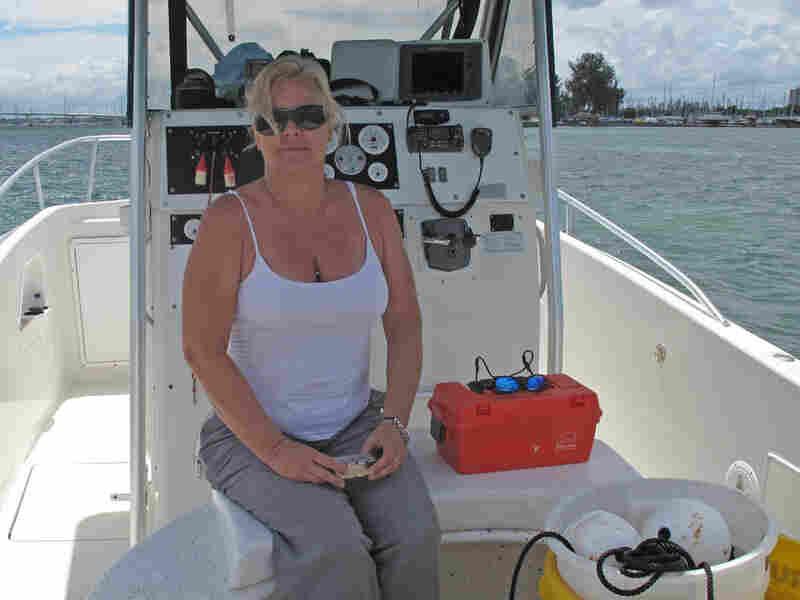 Marine Chemist Dana Wetzel