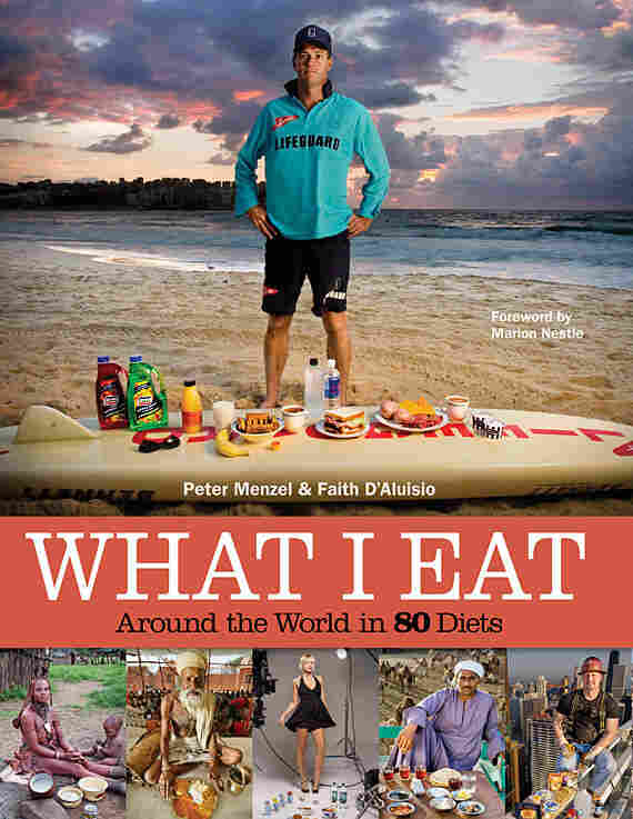 """The cover of """"What I Eat"""""""