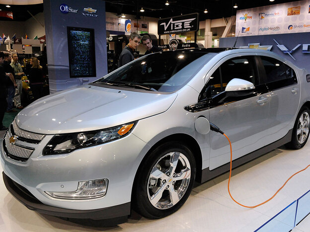 GM says it will launch the Chevy Volt in a few months. It will go for $41,000 -- and owners can apply for up to $7,500 in tax credits.