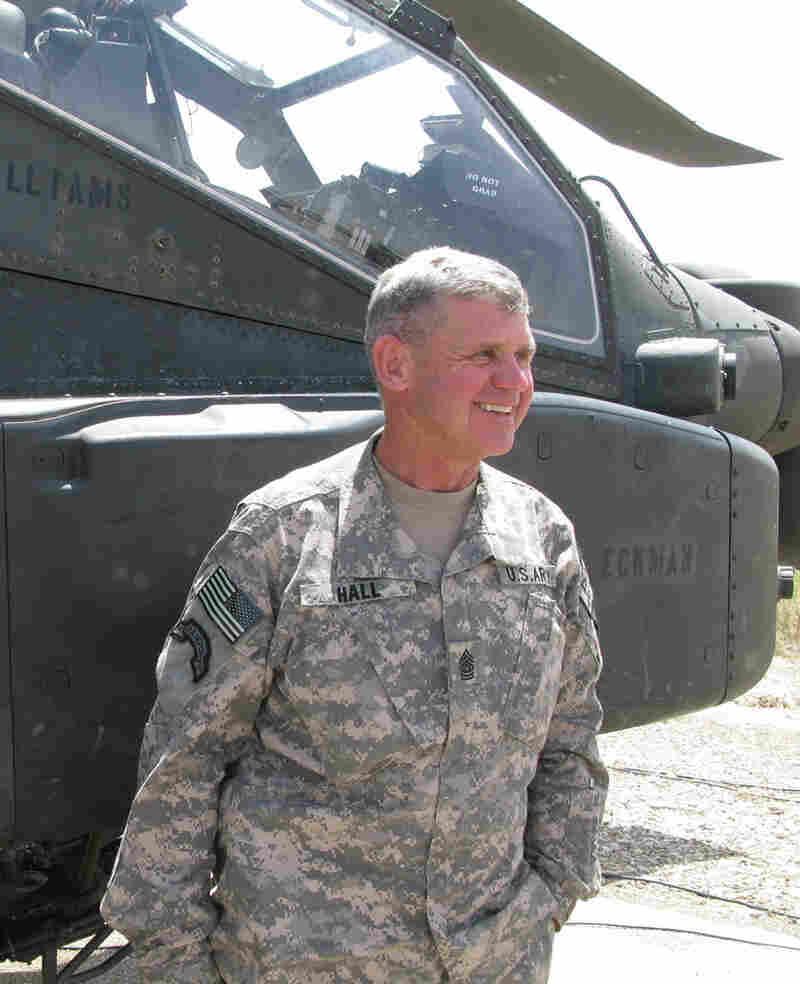 Command Sgt. Maj. Mike Hall