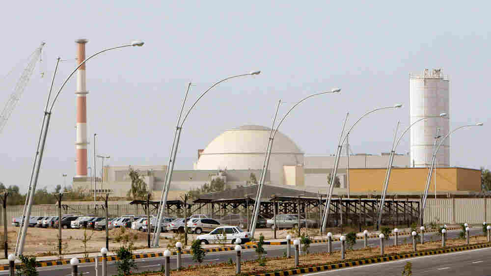 Russia signed a $1 billion contract in 1995 for building the Bushehr plant, seen here in 2009.