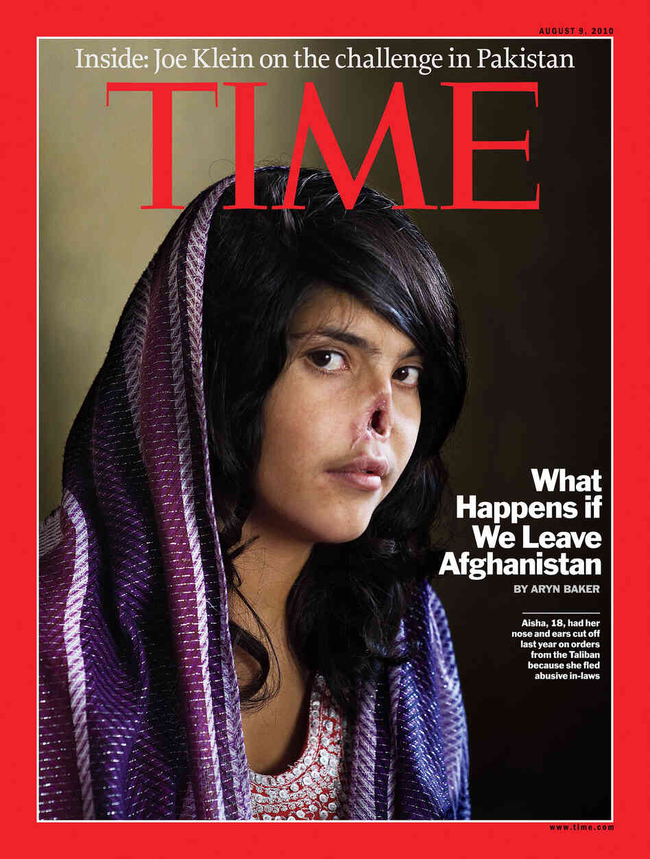 Bibi Aisha, Disfigured Afghan Woman Featured On 'Time' Cover ...