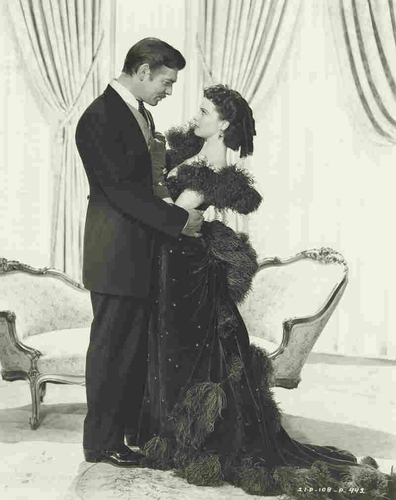 Vivien Leigh and Clark Gable.