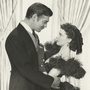 Vivien Leigh and Clark Gable.