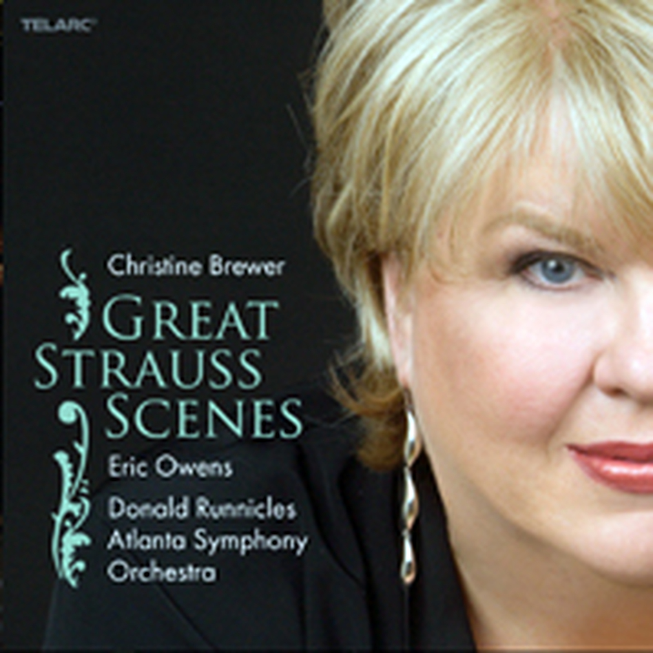 Cover for Great Strauss Scenes